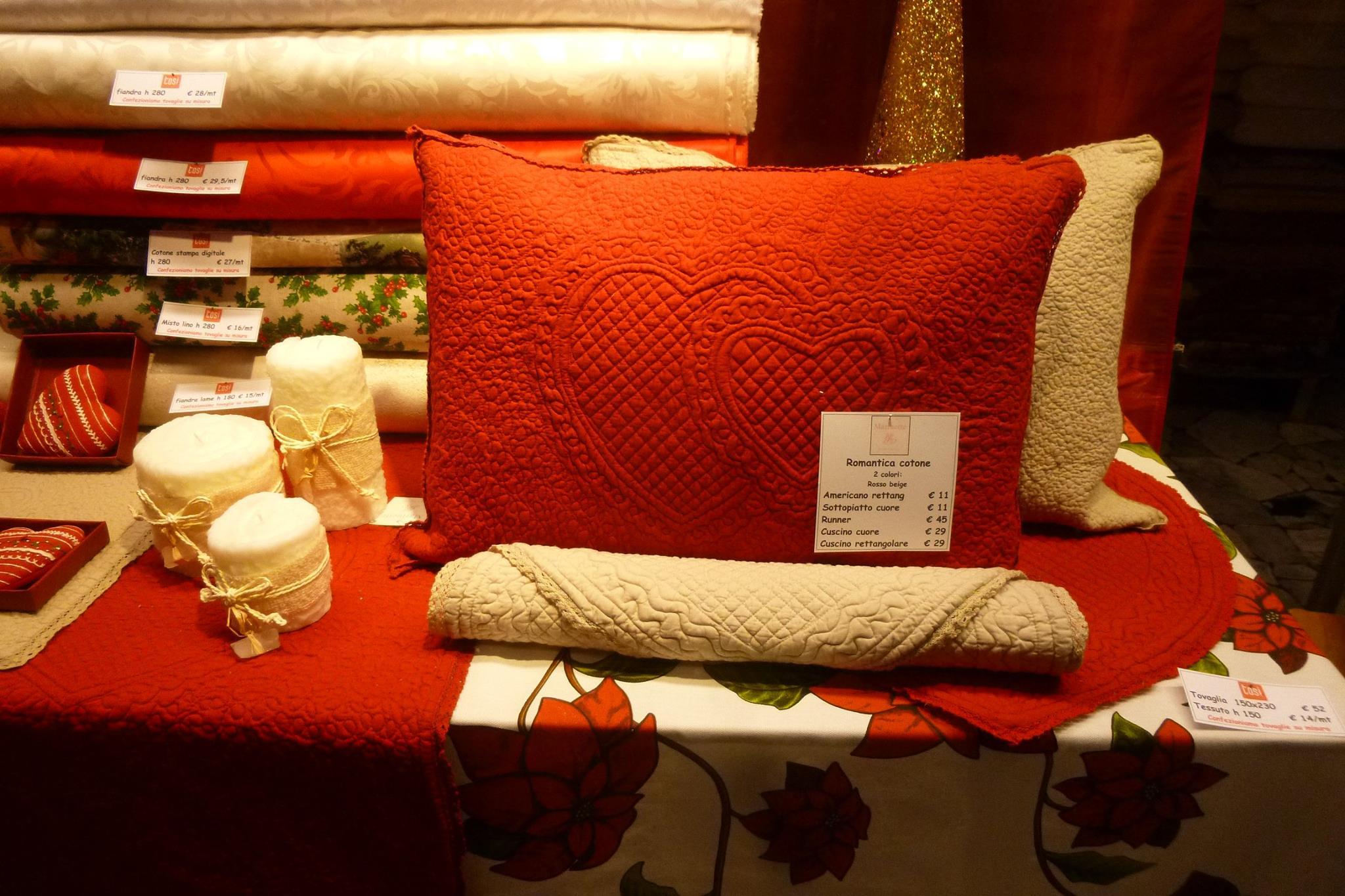 Marinette natale copia tessuti stoffe e biancheria - Fiera biancheria per la casa ...